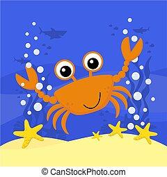 kevés, csinos, crab.eps