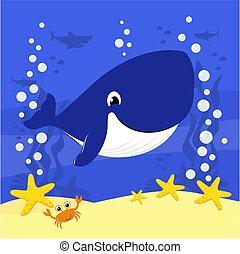 kevés, csinos, whale.eps