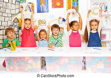 kevés, gyerekek, irodalomtudomány, írás, tanulás, furfangos