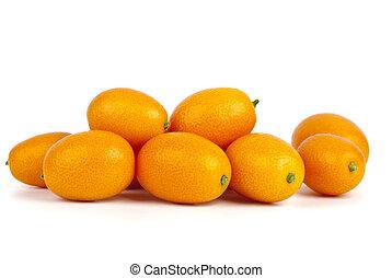 kevés, kumquat, gyümölcs