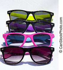 kevés, szemüveg, collorful, nap