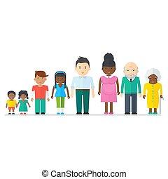 kevert, black család
