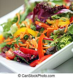 kevert, friss növényi, különféle, saláta