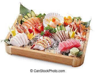 kevert, sashimi