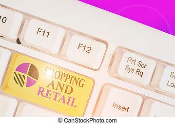 kiállítás, fogalmi, ügy, eljárás, ingóságok, fogyasztó, customers., bevásárlás, retail., szolgáltatás, fénykép, kéz, szöveg, írás, eladás
