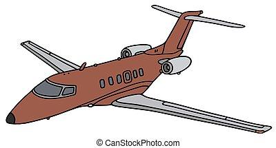 kicsi ügy, sugárhajtású repülőgép