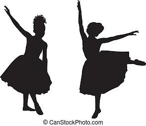 kicsi, ballerinas