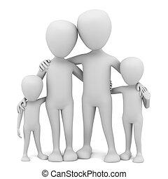kicsi, family., 3, -, emberek
