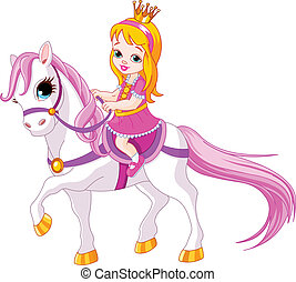 kicsi hercegnő, ló
