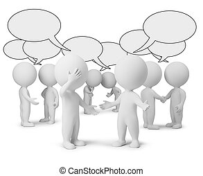 kicsi, vita, 3, -, emberek