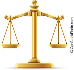 kiegyensúlyozott, méltányosság lekapar