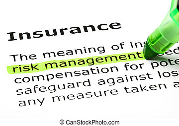 kijelölt, 'risk, management', 'insurance', alatt
