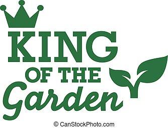 király, kert
