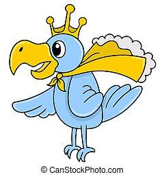 király, madarak