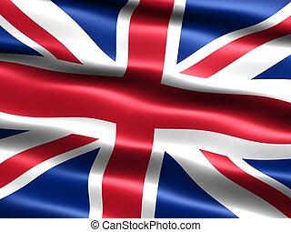 királyság, egyesült, flag: