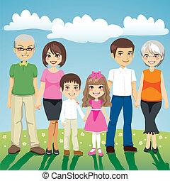 kiterjedt család