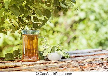 kivirul, tea, lime