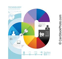 kivonat alakzat, infographic, tervezés, technológia, mód, alaprajz, /, sablon, infographics, karika, minimális, website, lenni, használt, horizontális, kapcsoló, számozott, grafikus, megvonalaz, vektor, konzerv, szalagcímek, vagy