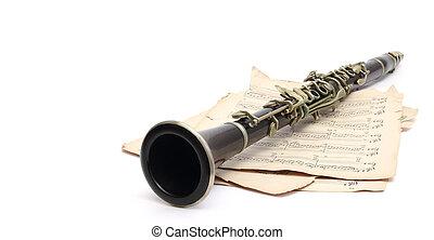 klarinét, zene