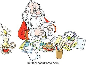 klaus, irodalomtudomány, felolvasás, szent