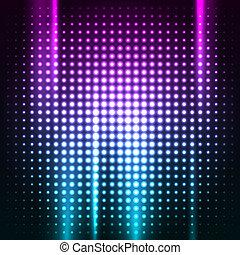 klub, elvont, színes, háttér, disco