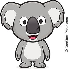 koala, álló