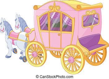 kocsi, hercegnő