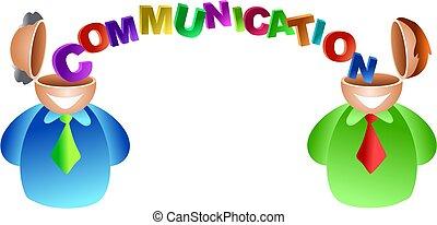 kommunikáció, agyonüt