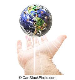 kommunikáció, globális, világ-, fogalom