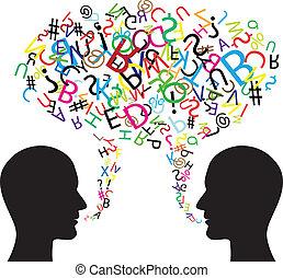 kommunikáció, jelkép