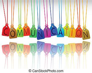 kommunikáció, nappal