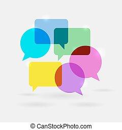 kommunikáció, panama, beszéd, hálózat, társadalmi