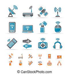 kommunikáció, technológia, drótnélküli távíró
