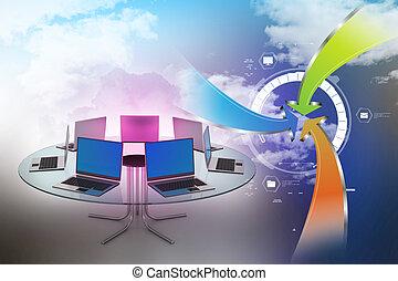 konferencia asztal