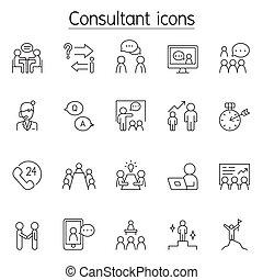 konzulens, híg, ikon, állhatatos, egyenes, mód
