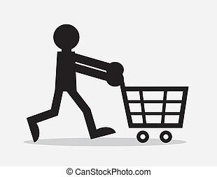 kordé, alak, bevásárlás
