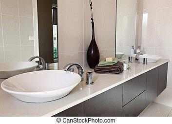 kortárs, fürdőszoba