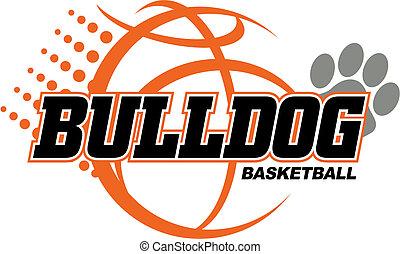 kosárlabda, bulldog, tervezés