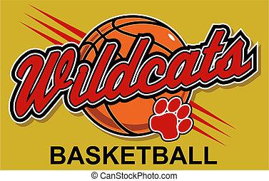 kosárlabda, tervezés, wildcats