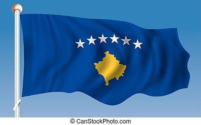 kosovo, lobogó
