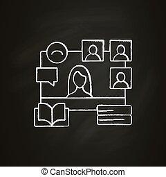 kréta, ikon, online, előjegyez ütő