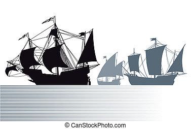 kristóf, hajó, columbus