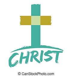 krisztus, kereszténység, jelkép, kereszt