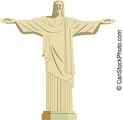 krisztus, szobor, jézus