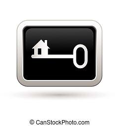 kulcs, icon., ábra, vektor