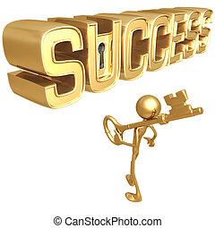 kulcs, siker