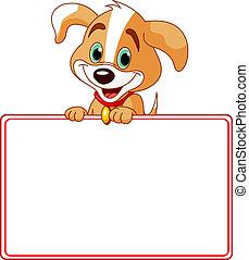 kutyus, kártya, állás