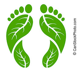 lábak, zöld