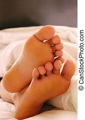 lábujjak, álmos