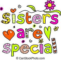 lánytestvér, különleges